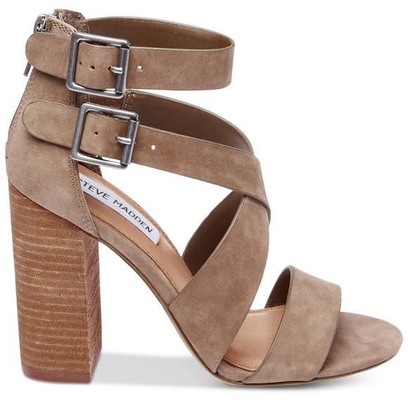 1a8d998e9a9 Steve Madden Sundance Stacked-Heel Dress Sandals